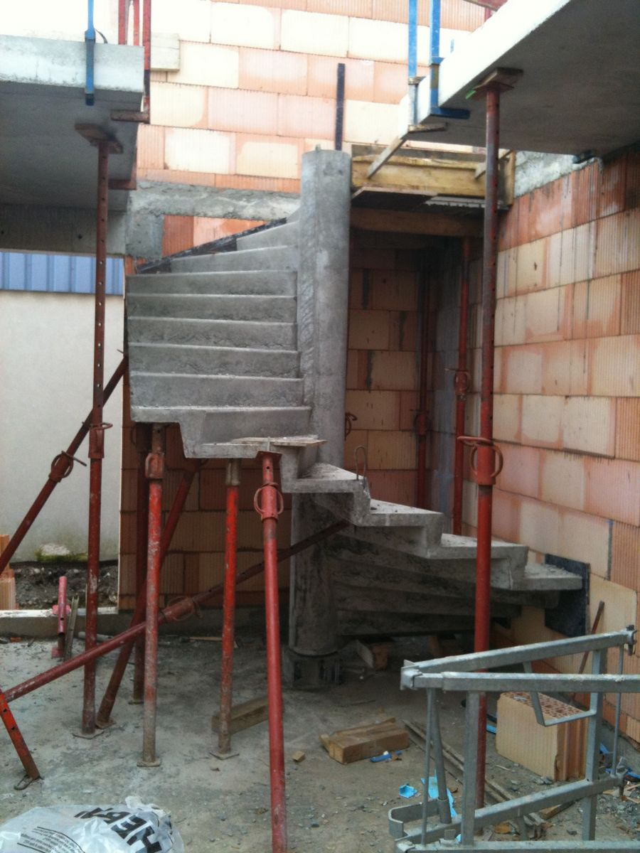 Escalier bureaux 1